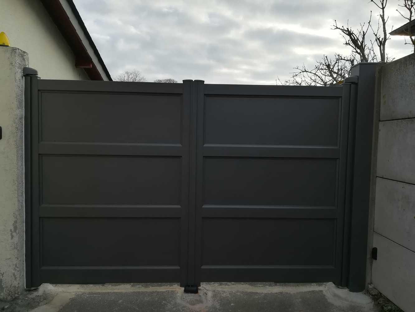 Installation d''un portail battant - Dinard (35) 0