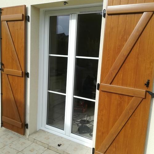 Changement fenêtres PVC balnc - ouverture à la française