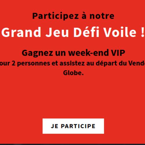 Gagnez un week-end VIP pour 2 personnes aux Sables-d'Olonne