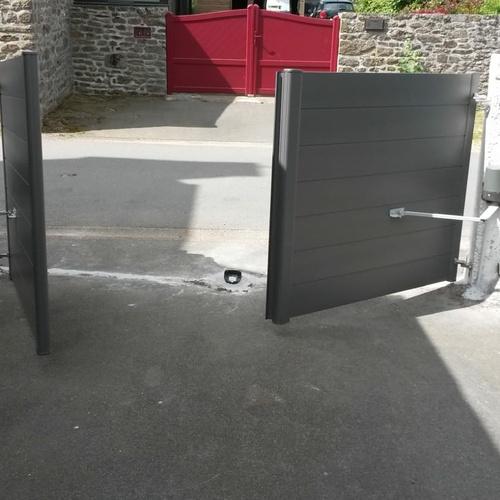 Installation d''un portail - La Vicomté-sur-Rance (22)