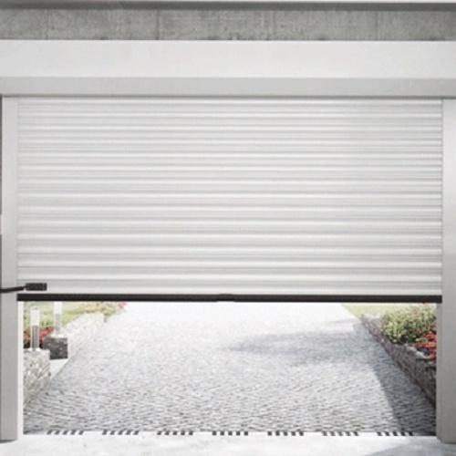 Porte de garage sectionnelle à enroulement