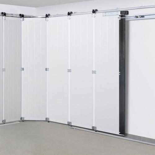 Porte de garage sectionnelle latérale intérieur