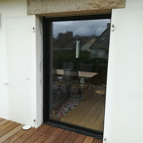 Rénovation fenêtres et baies vitrées alu - Saint-Malo
