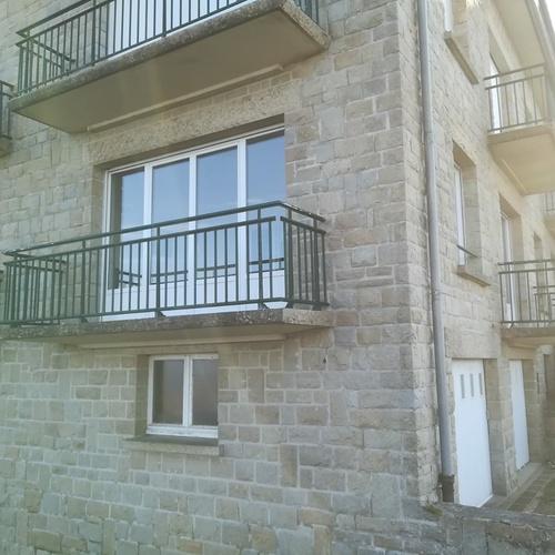 Rénovation menuiseries extérieures PVC banc - St Lunaire- 35