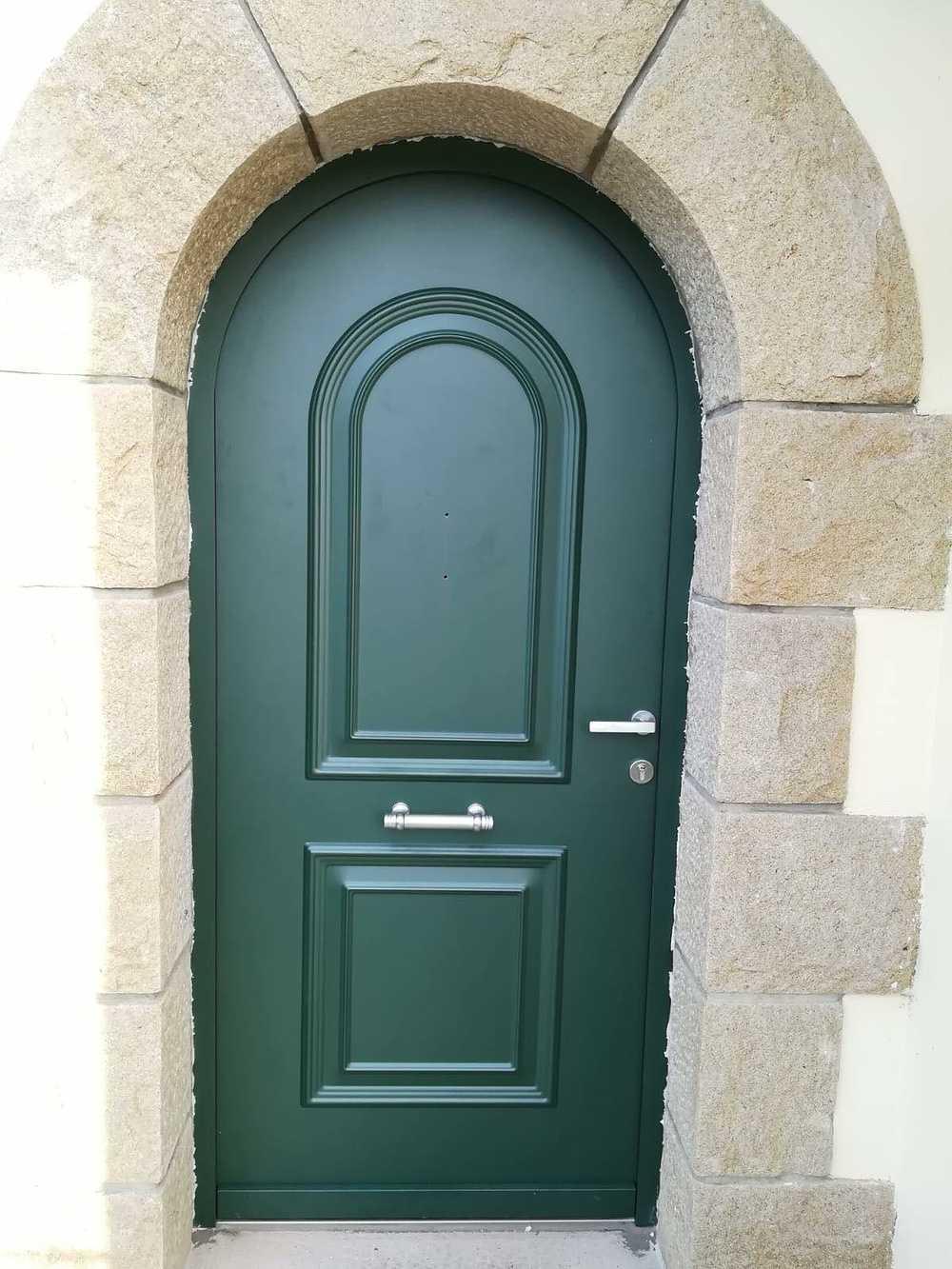 Porte d''entrée cintrée 0