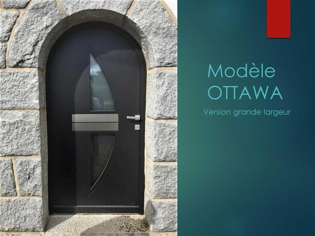 Porte d''entrée - Modèle Ottawa 0