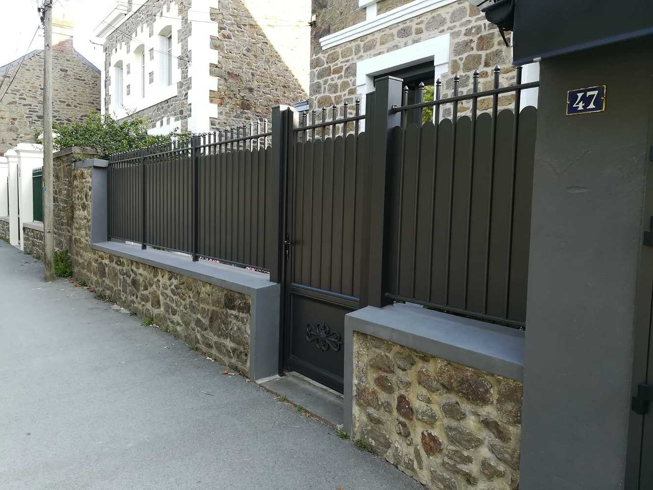 Installation portillon et clôture - Saint-Malo (35) 0