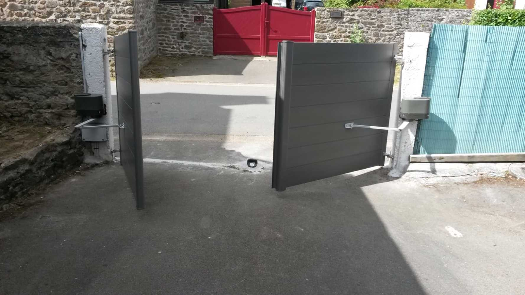 Installation d''un portail - La Vicomté-sur-Rance (22) 0