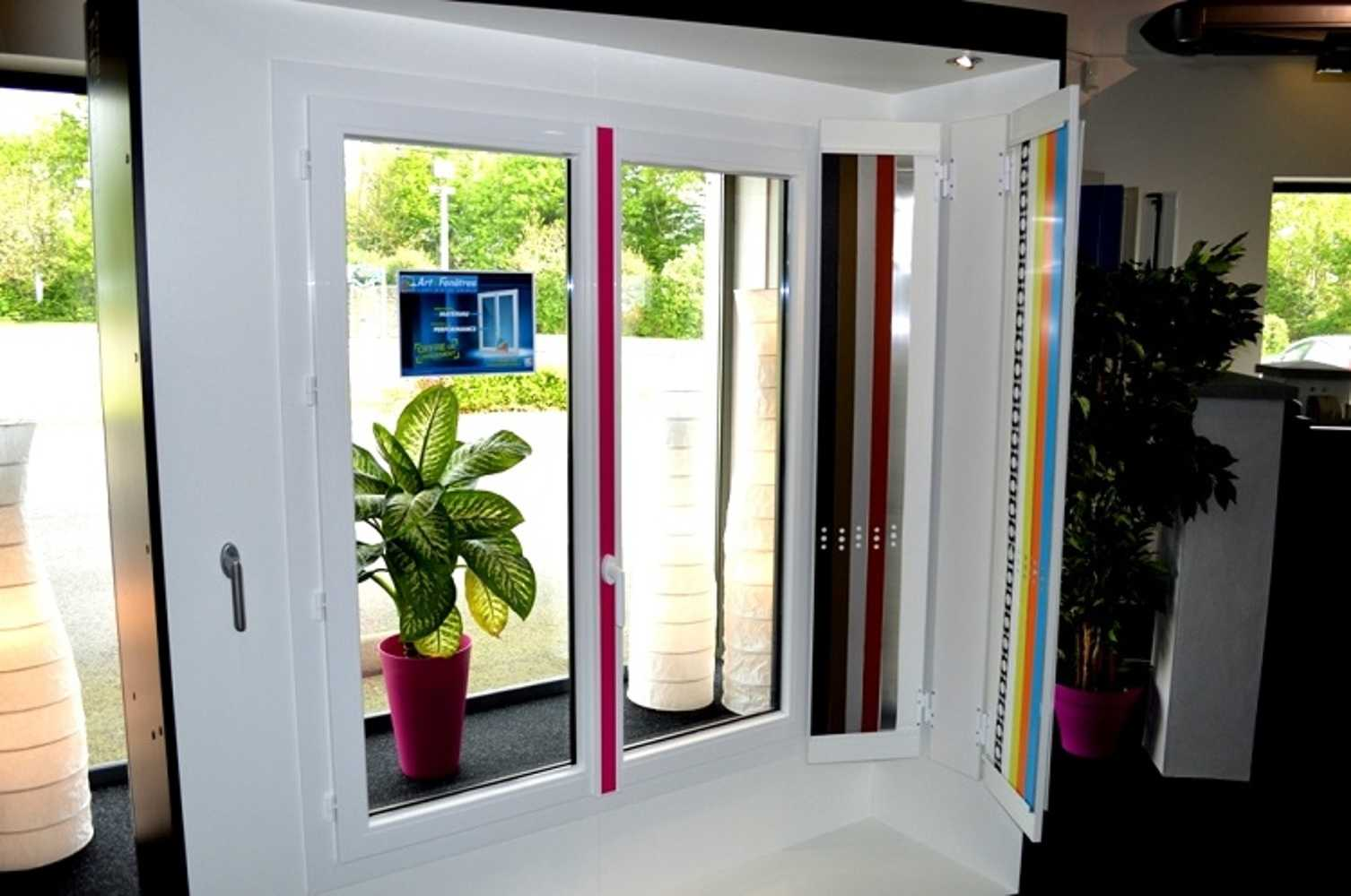 Fenêtre Art design PVC 0