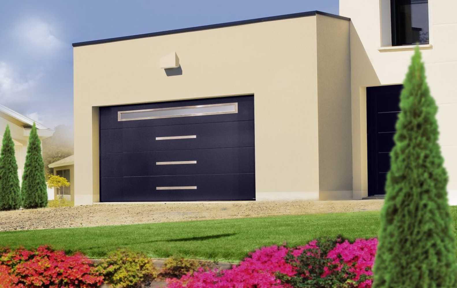 Aludoor - Porte de garage Gamme tendance tendance3