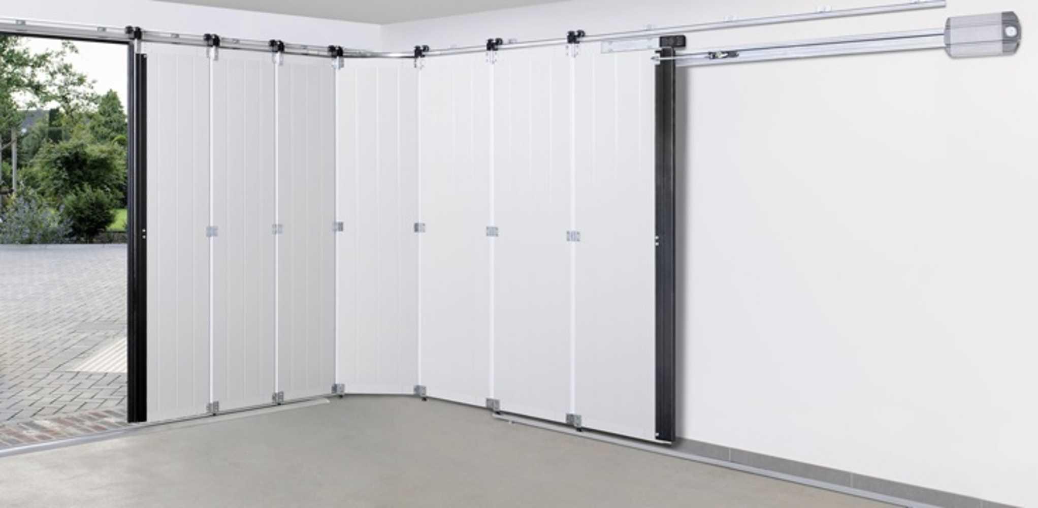 Porte de garage sectionnelle latérale intérieur 0