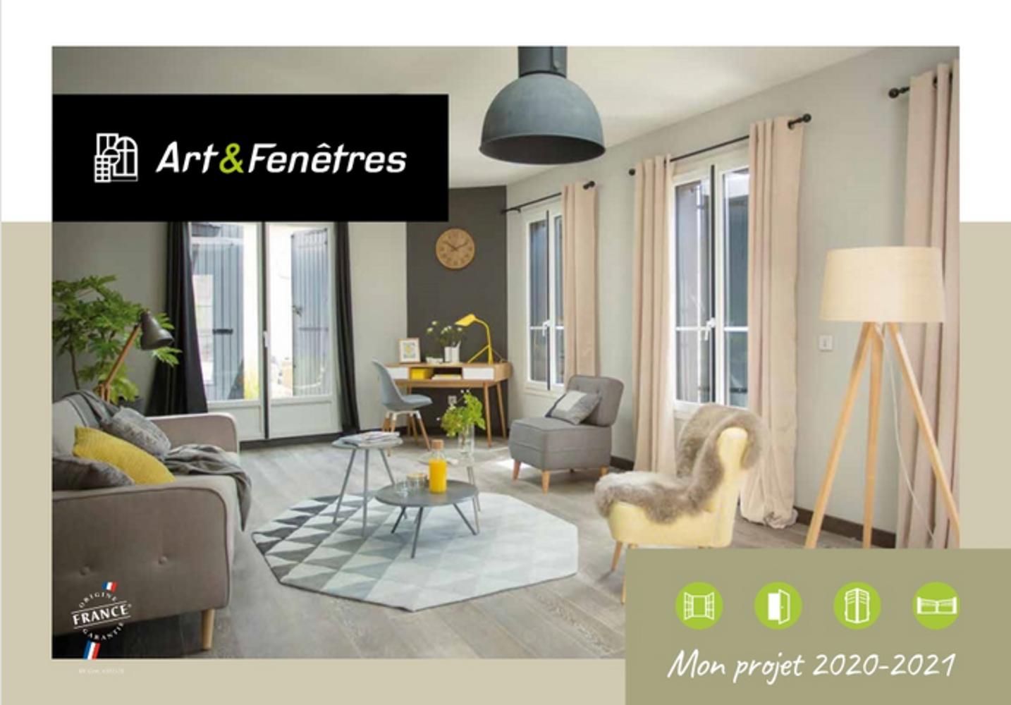 Le catalogue Art & Fenêtres 2020 0