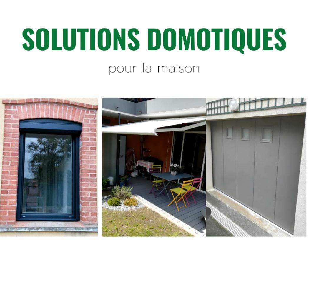 Solutions Domotiques : motorisation commande par smartphone, tablette.. 0