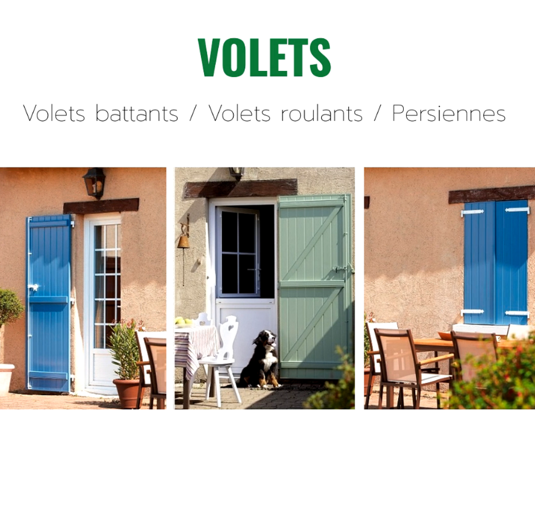 Volets coulissants, battants ou roulants 0