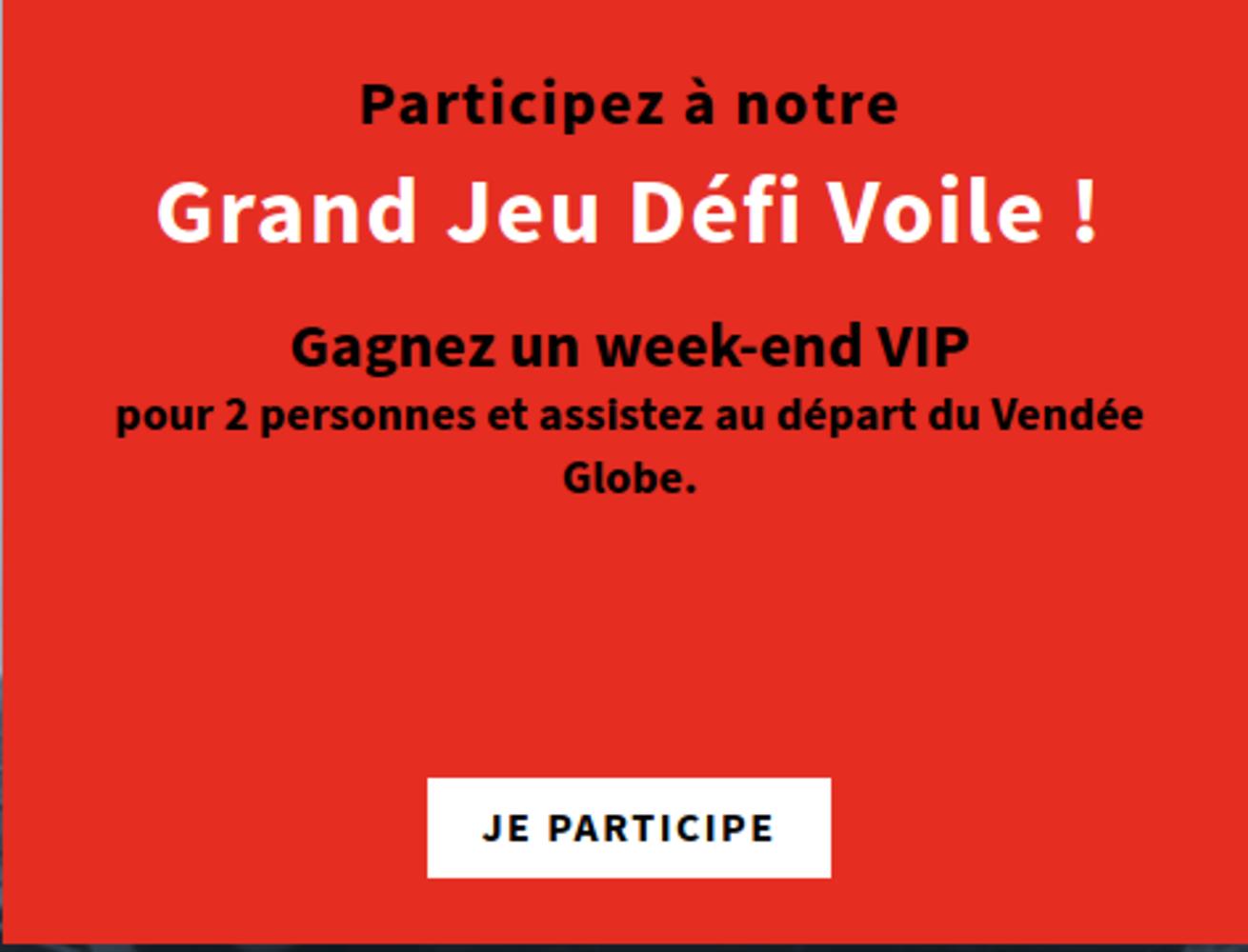 Gagnez un week-end VIP pour 2 personnes aux Sables-d'Olonne 0