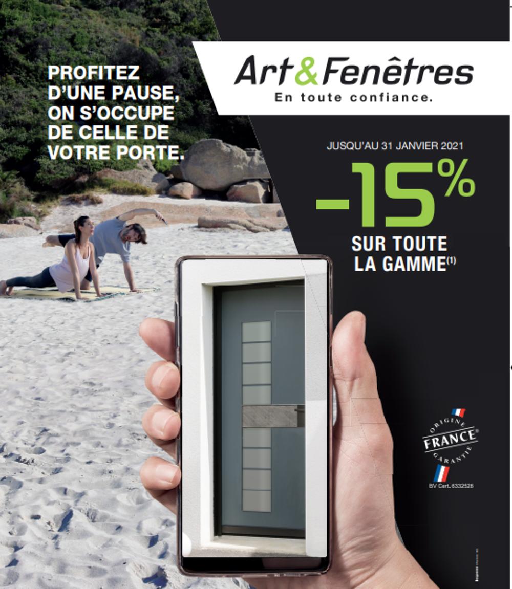 - 15% sur la gamme Art & Fenêtres 0