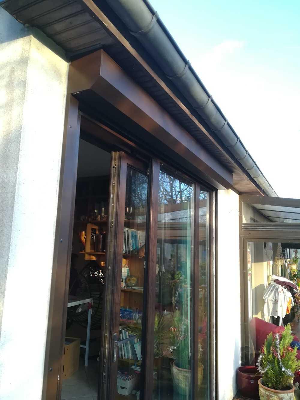 Menuiseries extérieurs - baie vitrée aluminium et volets motorisés 0