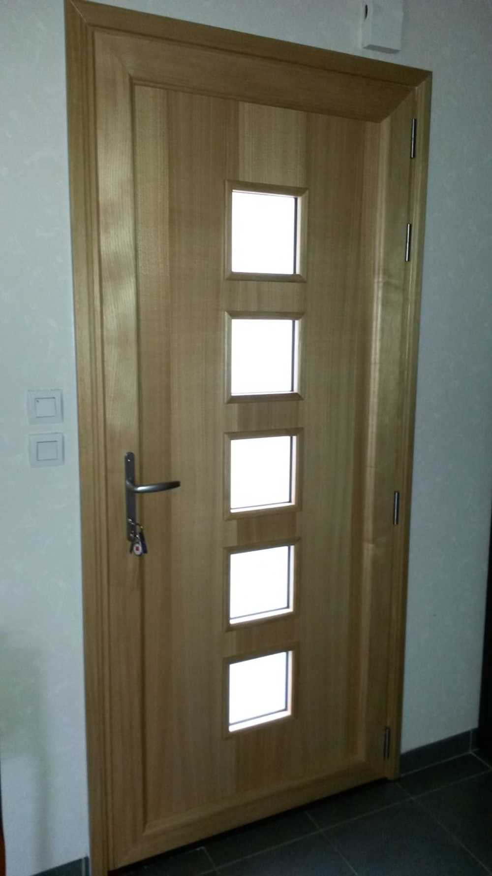 Porte d''entrée moderne - aluminium - Dinan 387e955b-17b9-49b9-8499-586f9c36e5b1